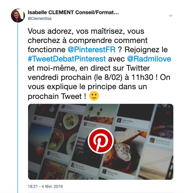 Tweet Pinterest